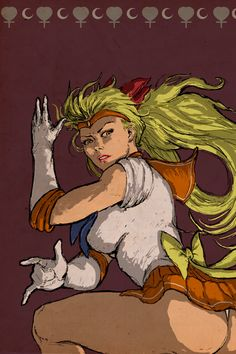 Sailor Venus, Ray Maverick on ArtStation at https://www.artstation.com/artwork/sailor-venus-b8befbd9-1336-415c-92bc-45a73b91f7e5