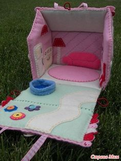 В качестве идеи - домики. - Boobooka - развивающие игрушки для детей и не только - Страна Мам