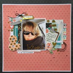 Blessed - Scrapbook.com - Made with the I Am collection by Simple Stories.