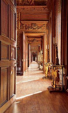 Chatsworth House enfilade.