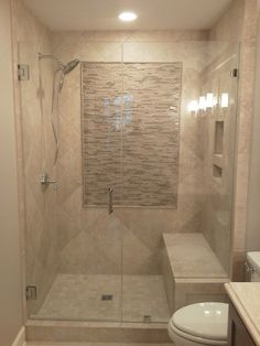 Frameless shower doors - contemporary - bathroom - charleston - by Lowcountry Glass & Shower Door LLC Bathroom Renos, Bathroom Renovations, Bathroom Interior, Bathroom Ideas, Bathroom Makeovers, Bathroom Doors, Bathroom Organization, Bathroom Designs, Bathroom Bench Seat