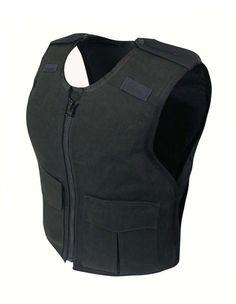 67083b29 FEMALE CORDURA® W/ FRONT ZIP CARRIER - Ballistic Level 2 + Stab Level 1.  Kevlar Body ArmorKevlar ...