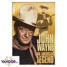 John Wayne Tin Sign - American Legend #fathersday idea. Who doesn't love the Duke?