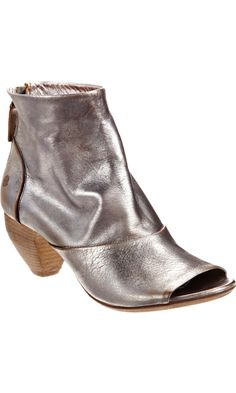Marsèll Metallic Open Toe Ankle Boot. Sigh.