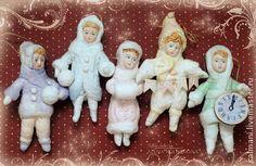 Ватные ёлочные игрушки - ватная игрушка,ёлочная игрушка,новогодний подарок