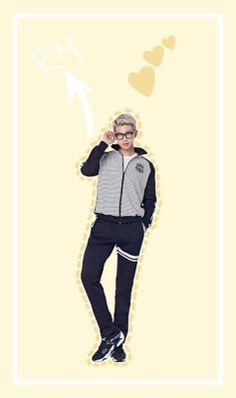 BTS / Rap Monster / Wallpaper ©bangtanwithfun.tumblr