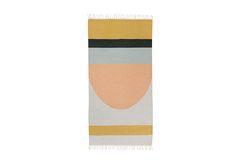 Bathroom rug: Lawson Fenning: Semi Circle Kilim Rug