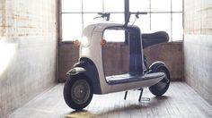 The Kubo from Lit Motors is an electric cargo scooter that carries its weight and looks good doing it. Kickstarting now.