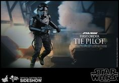 Star Wars First Order TIE Pilot Sixth Scale Figure by Hot To | Sideshow Collectibles