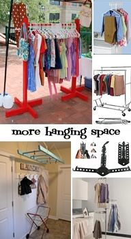 Getting Organized: Clothing Tools to help you maximize your hanging space #consignment