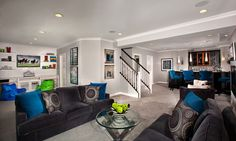 Townhomes & Condominiums | Model Home Interiors