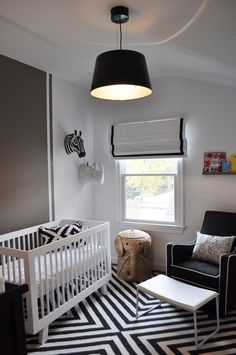 black and white striped rug Kids Transitional with animal head art animal