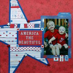 America the Beautiful - Scrapbook.com
