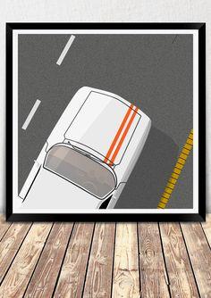 on the road Gif Animazione da Mikhail Rodricks, via Behance