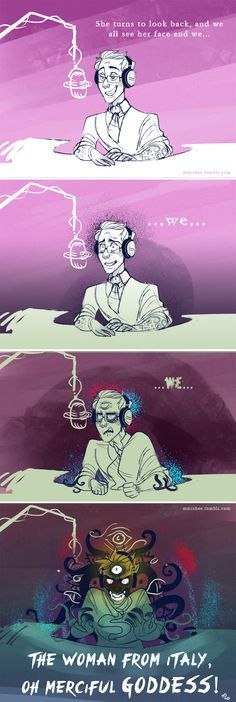 She is still the most terrifying person in Night Vale