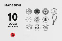Check out Made Dish Logo Package by sergio zest on Creative Market