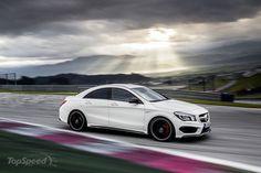 2014 Mercedes CLA 45 AMG @ Top Speed #AMG #cla #mercedes #speed #Top