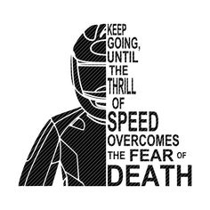 Keep going, until the thrill of speed overcomes the fear of death, 2 versions motorcycle biker SVG clipart vector graphics cut files jpg png Motorcycle Clipart, Motorcycle Stickers, Bike Stickers, Bike Quotes, Motorcycle Quotes, Motorcycle Style, Enfield Motorcycle, Motorcycle Racers, Dirt Bike Tattoo