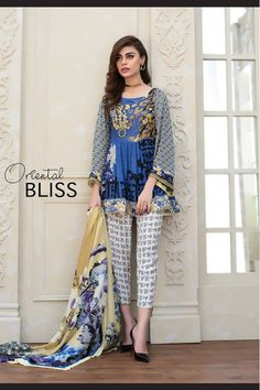 Fancy Party Wear Dresses for Women 2017 Formal Pakistani Dresses Stylish Dresses For Girls, Simple Dresses, Casual Dresses, Fashion Dresses, Casual Wear, Trendy Outfits, Beautiful Dresses, Pakistani Formal Dresses, Pakistani Dress Design