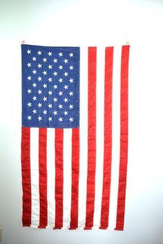 American Flag Wall Hanging American Flag Decor By JudysJunktion
