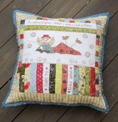 Pillow by Anni Downs - Irmi