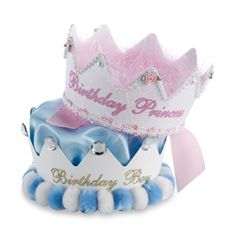 Birthday Princess/Prince Crown Party Hat