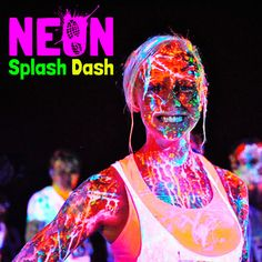 Run in a Neon Splash Dash. This is said to be the most magical 5K on Earth. @hannahb128 @lillieange  @saylorcb @britneybatey ....next year!
