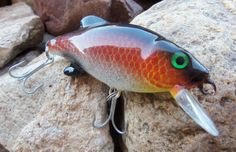 Fishing Lure Bass Pike Custom Painted by CandTCustomLures  Etsy.com; https://www.etsy.com/treasury/MjM5Mjk0Mzh8MjcyMTYwNzQxNw/life-is-better-at-the-lake?ref=pr_treasury