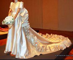 Roberto Capucci - Haute Couture - Robe de Mariée - Traine à Godets