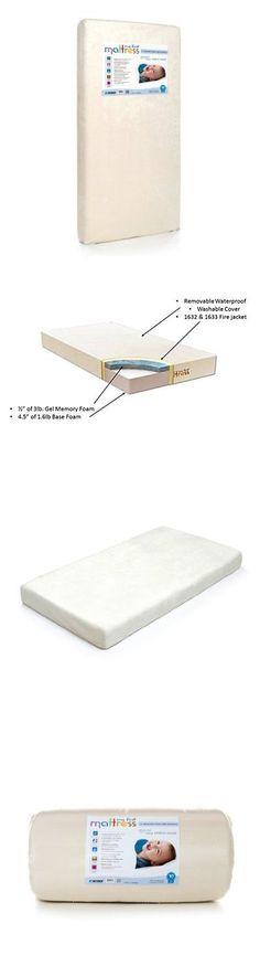 baby ip com crib with pedic foam a memory maxi mattress l walmart