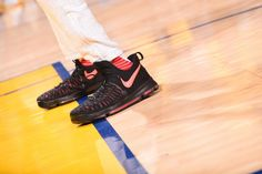 NBA B/R Kicks of the Week: Best on Court for NBA Week 15 | Bleacher Report  KD 9 Aunt Pearl supports the Kay Yow Fund