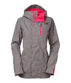 The North Face Women's Jackets & Vests INSULATED WOMEN'S ABRAH INSULATED Mini Check Jacket