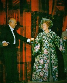 Sir Georg Solti& Luciana Serra in 'Die Zauberflöte',Scala,1991