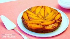 astonishing Mango-Banana Rum Upside-Down Cake - From the Test Kitchen
