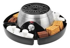 Electric S'mores Maker @ Sharper Image  Great for stargazing outings.