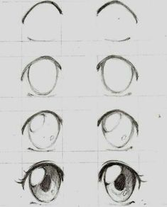 wianinedraw mangaaugen aninedraw zeichnet dibujar cómo manga ojos wie man Wie zeichnet man MangaAugen Cómo dibujar ojos manga WianinedrawYou can find Manga and more on our website Art Drawings Sketches Simple, Kawaii Drawings, Cute Drawings, Pencil Drawings, Drawings Of Eyes Easy, Realistic Drawings, How To Draw Anime Eyes, Manga Eyes, Manga Anime