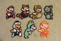 Mario Perler Beads!