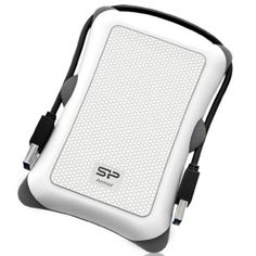 Silicon Power 2TB Rugged Armor A30 Shockproof Standard 25Inch USB 30 Military Grade Portable External Hard DriveWhite SP020TBPHDA30S3W * Find out more about the great product at the image link.