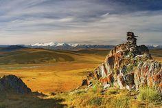 Плато Укок на Алтае, Россия