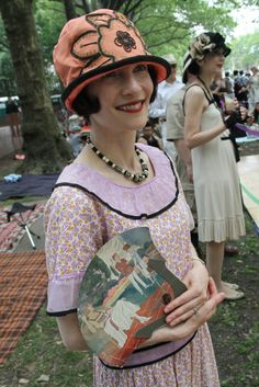 Jazz Age Lawn Party on Governors Island 20s Fashion, Party Fashion, Vintage Fashion, Jazz Age Lawn Party, Wilhelm Busch, Glamour, Costume, Historical Clothing, Dress To Impress