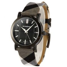 BU1377 Burberry Classic Pattern Table Lige Mens Watch Price $305