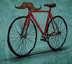 Handlebar Mustache! :)