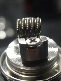 42g wrapped around dual 34g on subtank mini paralleled with 30g kanthal #vape…