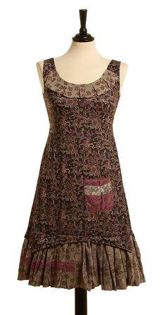 Kleid Ossa Estampado - Gris von Ian Mosh