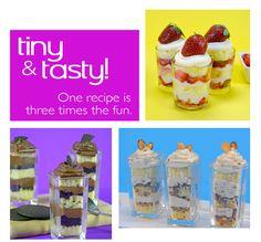Mini Desserts Trio