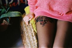 I've considered getting a leg tattoo in the past...and I still kinda am.