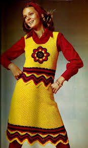 vintage crochet skirt - Pesquisa Google