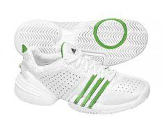 premium selection 9c463 3fb64 ADIDAS Barricade Adilibria Ladies Tennis Shoes, White Green, US7.5 « Tennis