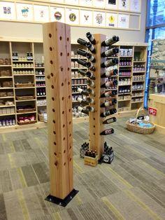 custom made free standing wine racks