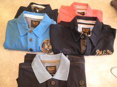 Heel veel polo,s diverse kleuren van PME. van maat M t/m EEEL € 69.95
